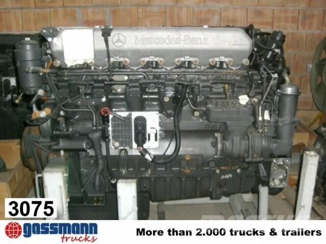 MB Trac Motor 1843 OM 457 Umweltplakette gelb