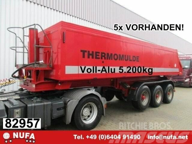 Meierling MSK 24 Voll-Alu Iso-Kastenmulde, ca. 25m³, 5x