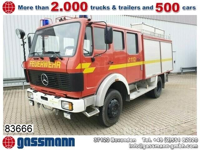 Mercedes-Benz 1222 AF 4x4, TLF16/25, Feuerwehr, Heckpumpe