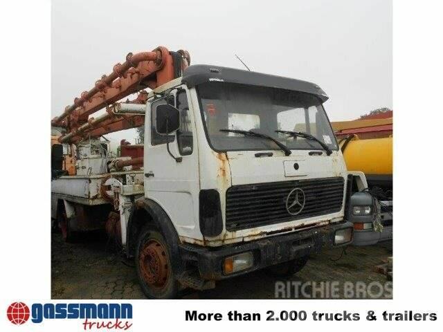 Mercedes-Benz - / 1619 4x2 / 4x2, 1982, Camiones de concreto