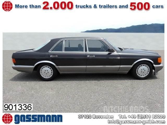 Mercedes-Benz 500 SEL Limousine, mehrfach VORHANDEN!