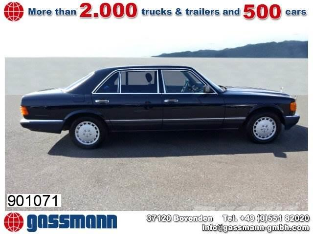 Mercedes-Benz 560 SEL Limousine Lang, mehrfach VORHANDEN!