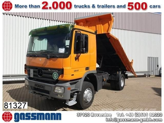 Mercedes-Benz Actros 1846 AK 4x4 mit Bordmatik links