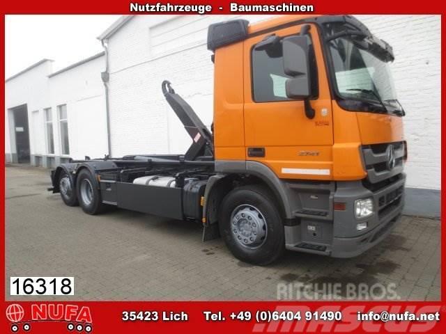 Mercedes-Benz Actros 3 2541 L 6x2, Eurolift/AJK Tele-Knick