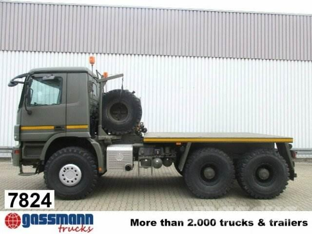 Mercedes-Benz Actros 3344AS 6x6 Special -Armee- Seilwinde, Winch