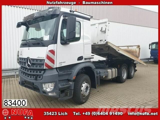 Mercedes-Benz Arocs 2643 LK 6x4 mit Bordmatik links
