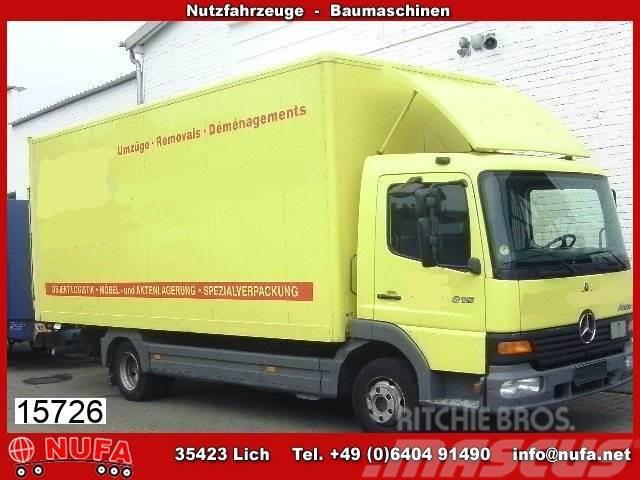 Mercedes-Benz Atego 815 4x2 Klima/Umweltplakette gelb/Lichtdach