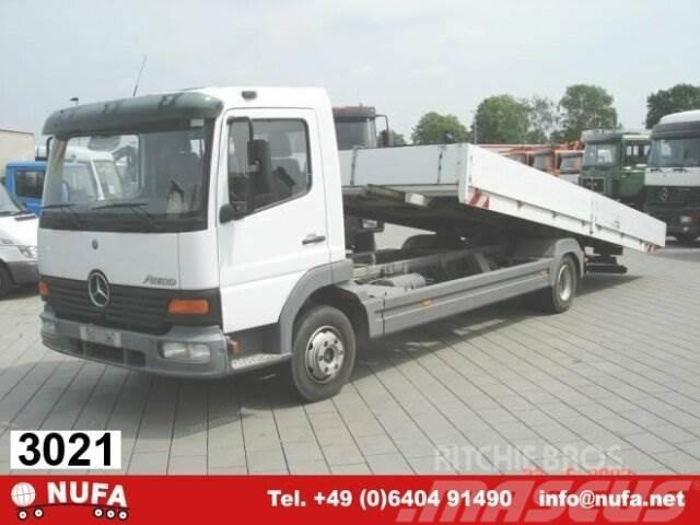 Mercedes-Benz Atego 817L 4x2, Autotransporter, 2x VORHANDEN!