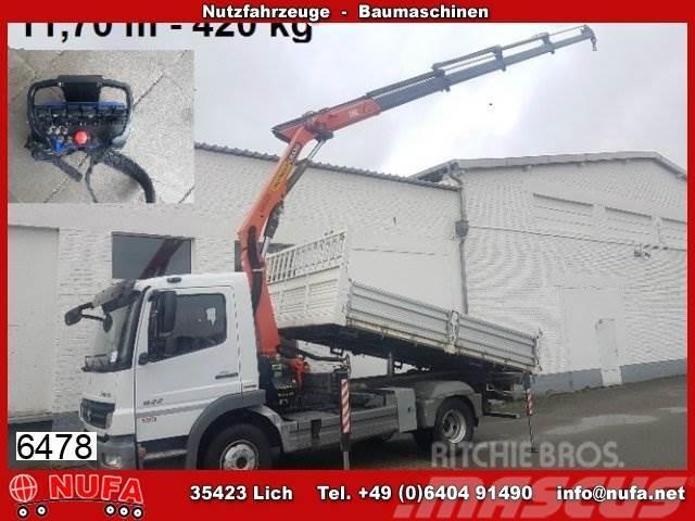 Mercedes-Benz Atego 822 K, Palfinger Kran PK 7501 C 11,80m-420