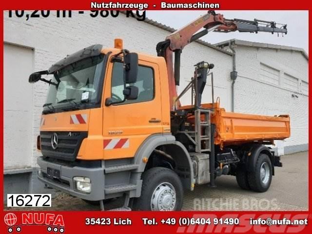 Mercedes-Benz Axor 1829 AK/4x4, Kran PK 12000 B, 10,20 - 980 kg,