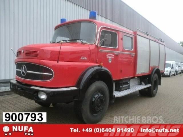 Mercedes-Benz LAK 1924 4x4 TLF, Feuerwehr