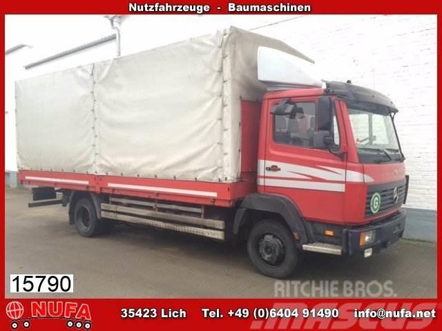 Mercedes-Benz LK 817 L 4x2 eFH./Umweltplakette Rot/Dachspoiler