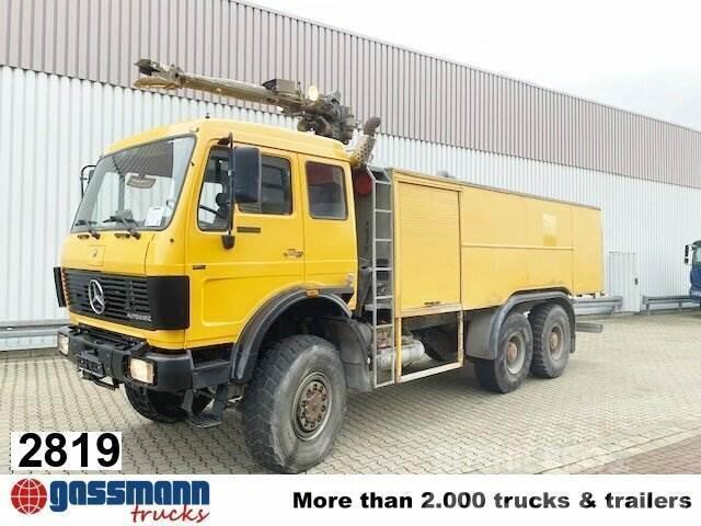 Mercedes-Benz NG 2636 A 6x6, V10-Motor, Feuerwehr, 10.000l Tank,