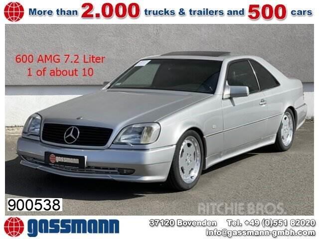 Mercedes-Benz S 600 AMG 7.2 Litre C140