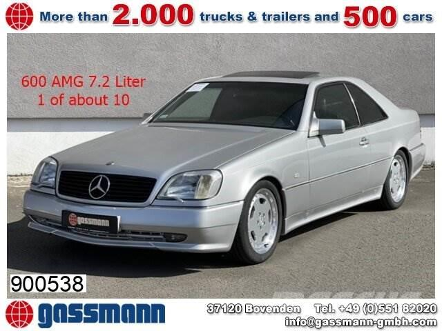 Mercedes-Benz S 600 Coupe, CL 600, AMG mehrfach VORHANDEN!