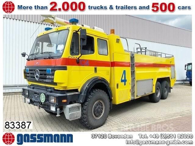 Mercedes-Benz SK 2753 AK 6x6, V8, Feuerwehr, 12.000l Tank