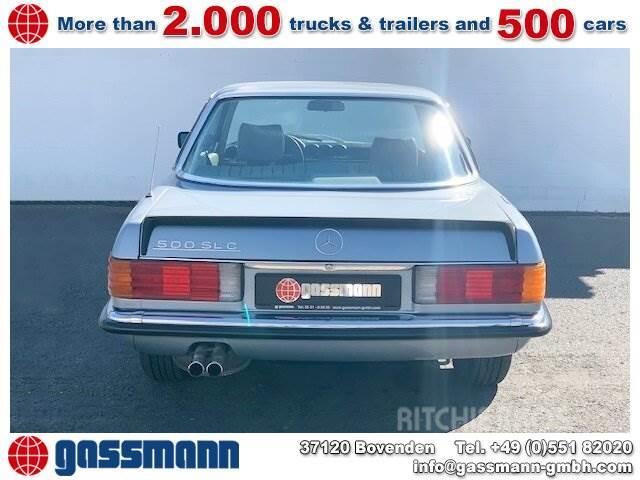 Mercedes-Benz SLC 500 SLC Coupe, mehrfach VORHANDEN!
