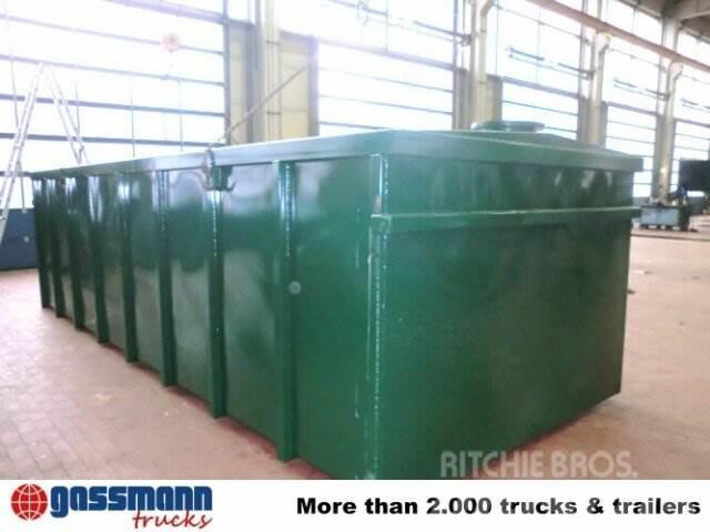 Nfp-Eurotrailer Gülle-Container, ca. 22,5m³, 2015, Tankbilar