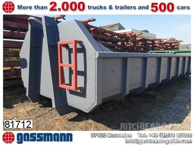 [Other] Andere Abrollcontainer 9,5m³, Flügeltüren