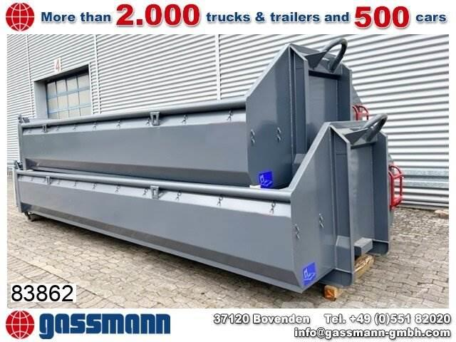 [Other] Andere Abrollcontainer mit Klappe ca. 12m³, 6,5m,