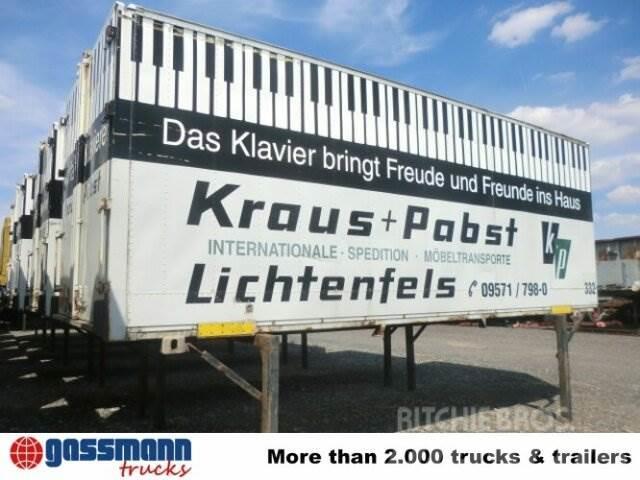 BRANDL WB / Koffer, 1995, Växelflak-/Containersläp