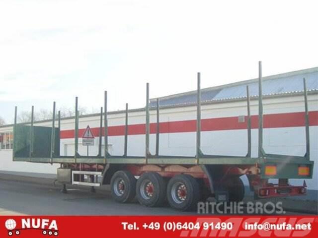 Gudera - / Plattform, 1994, Semirremolque de transporte de madera
