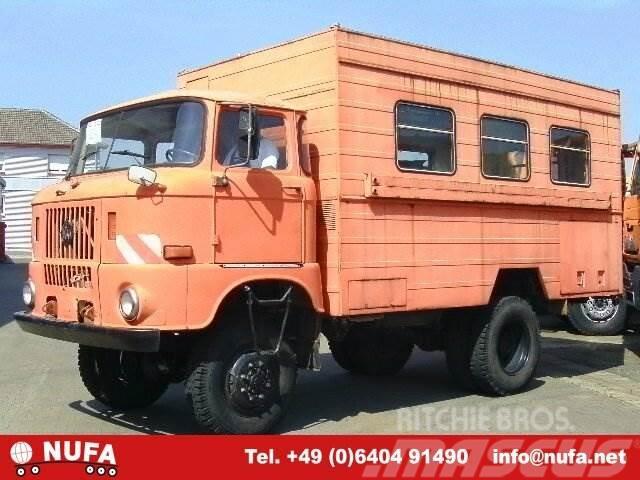 IFA-AUTOMOBILW. - / W 50 LA 4x4 / 4x4, 1981, Skåpbilar