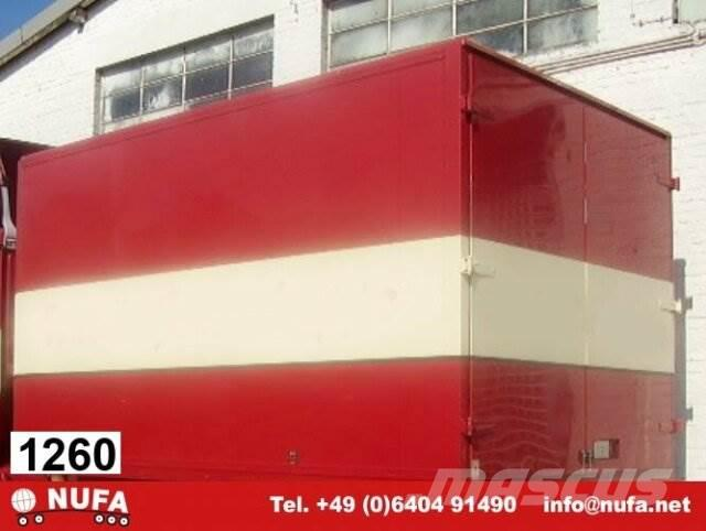 Koffer - / -, 1998, Camiones con caja de remolque
