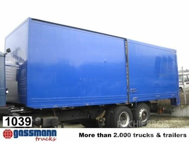 Koffer 2.Sch.-Tür, 1996, Camiones con caja de remolque