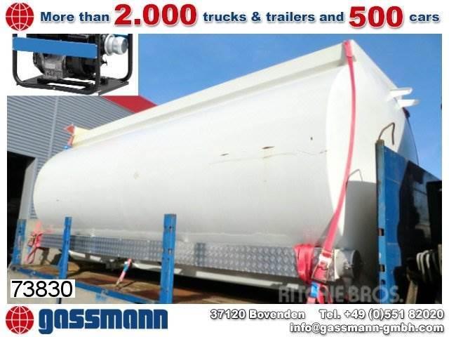 Stahltank 20.000 ltr, Tankbilar