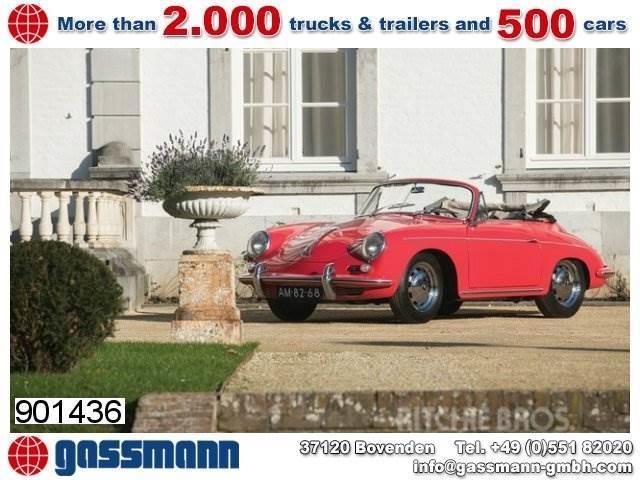 Porsche 356 C 1600 C Cabriolet, 4 Zylinder Motor