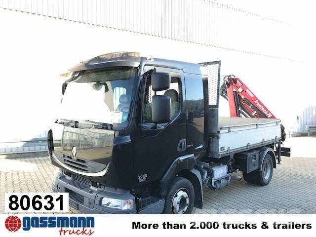 Usa Truck Spiegels.Renault Midlum 220 10 4x2 Mit Heckkran Bj 2015 Irontech Tc