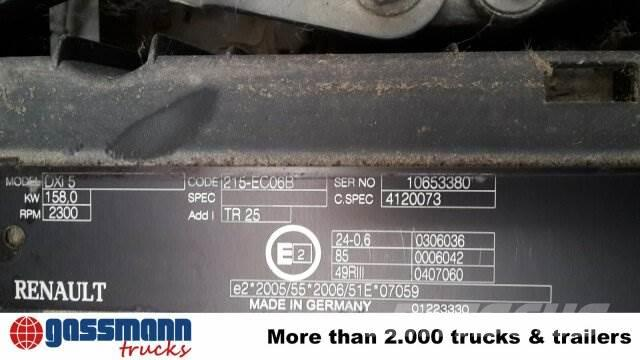 Renault Midlum / 220 DXi 4x2 / 4x2 Klima/NSW/Tempomat, 2009, Skåpbilar