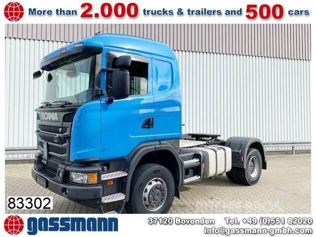 Scania G410 4x4, Retarder, Kipphydraulik