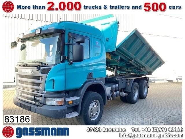 Scania P 420 CB 6x4, Retarder, Bordmatik links