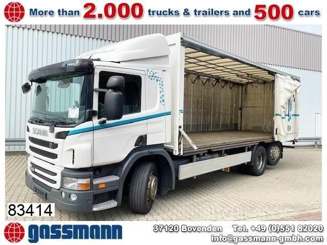 Scania P280 DB 6x2-4 Getränkewagen, Lift-/Lenkachse,