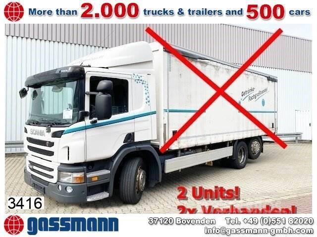 Scania P280 DB 6x2-4, Lift-/Lenkachse, 2x Vorhanden!