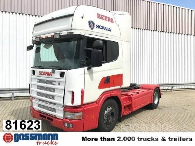 Scania R124 L 420 4x2, Retarder, Hydraulik