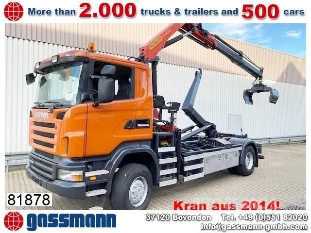 Scania R340 CA 4x4 mit Kran Palfinger PK13002/ Bj.2014