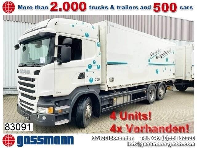 Scania R450 LB 6x2-4 Getränkekoffer, Retarder,