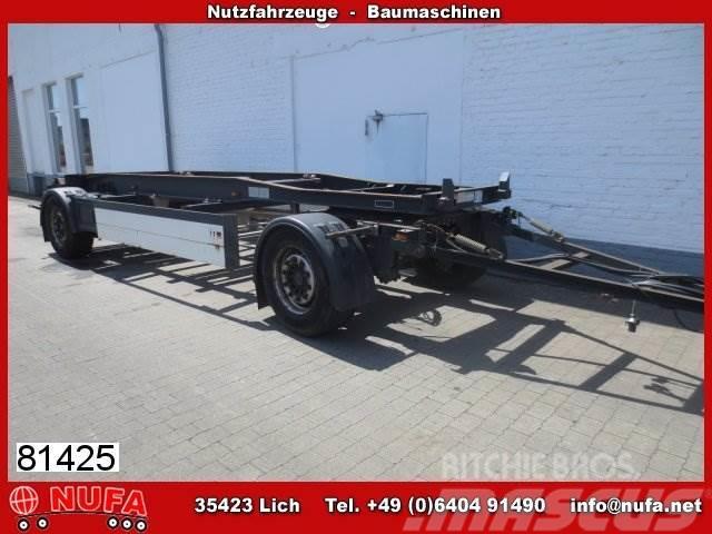 Schmitz ACF 18 S Schlittenabroller, Ex-Bundeswehr