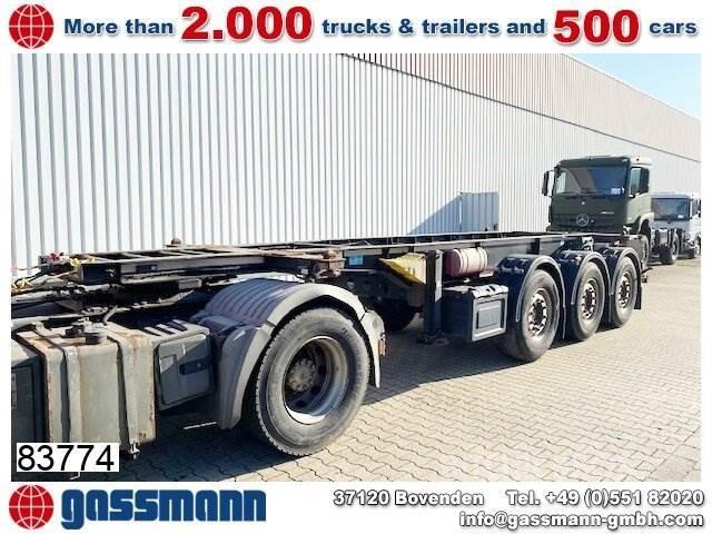 Schmitz SCF 24, ADR, Container-Chassis, 20 Fuß, Liftachse