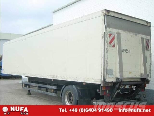 Schmitz SKO / 10, 1998, Skåptrailer Kyl/Frys/Värme