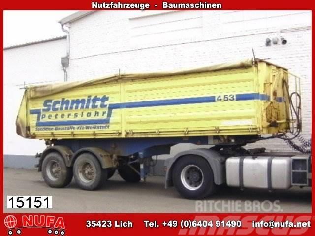 Schwarzmüller 2A 3S HKS E, ca. 23 m³