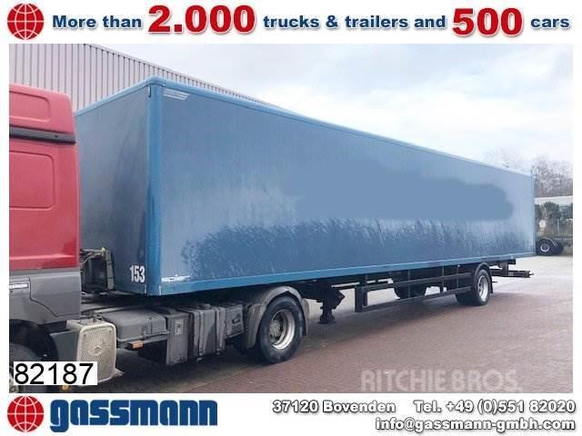 Spier SGL 190 Plywood-Kofferauflieger ca. 83m³