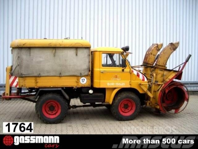 Unimog 30 411 4x4 Schneefräse mit Separatmotor