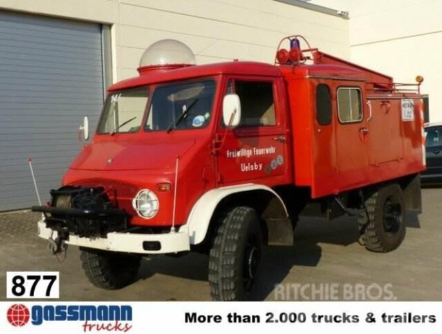Unimog S404 4x4, Feuerwehr