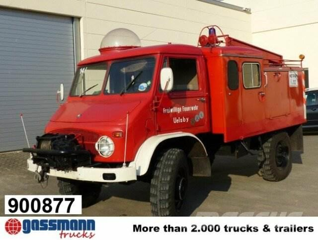 Unimog S404 4x4, Seilwinde, aufwenig