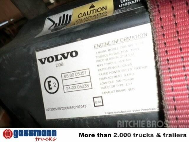 Volvo D9B 300-EC06 / Motor, 2008, Övriga bilar