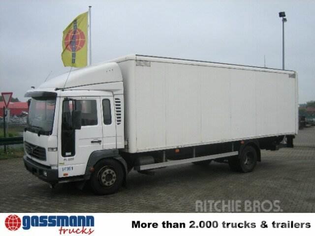 Volvo FL / 6-12 4x2 / 4x2 Klima, 2002, Camiones con caja de remolque